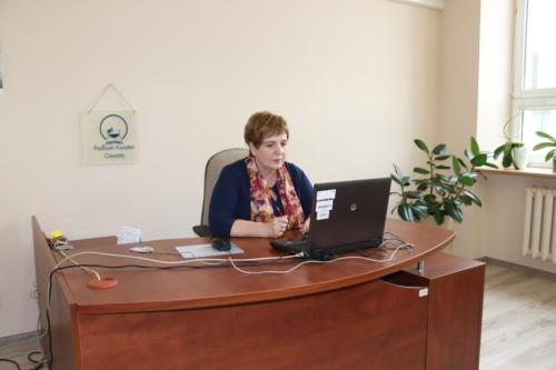 Wideokonferencja Podlaskiego Kuratora Oświaty z dyrektorami przedszkoli