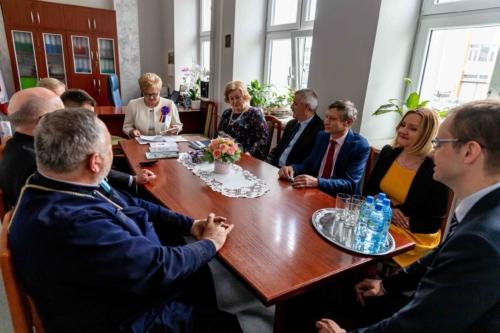 Spotkanie uczestników nadania sztandaru Centrum Kształcenia Ustawicznego im. Henryka Sienkiewicza w Białymstoku